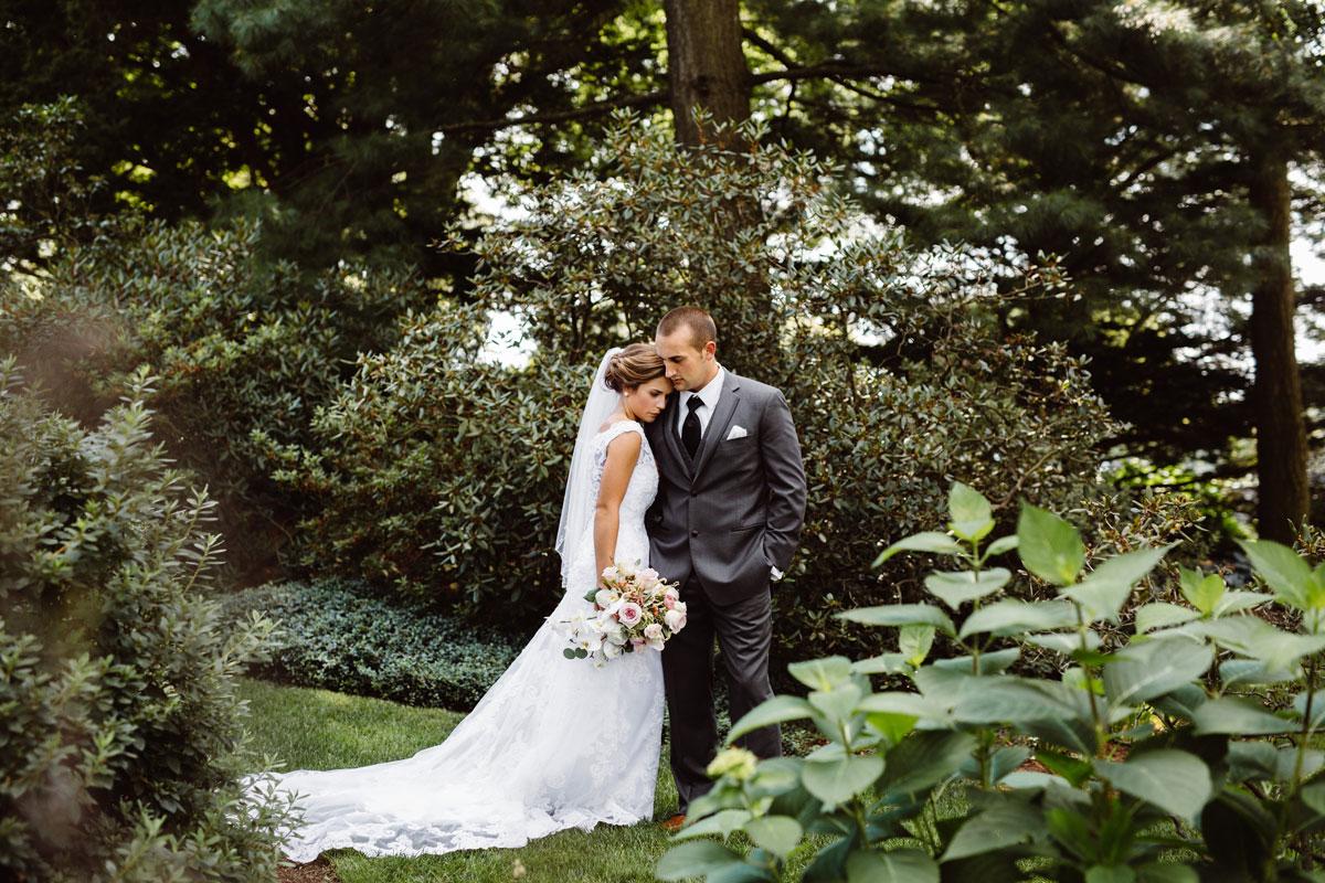 Bride & Groom - Garden Wedding Drumore Estate