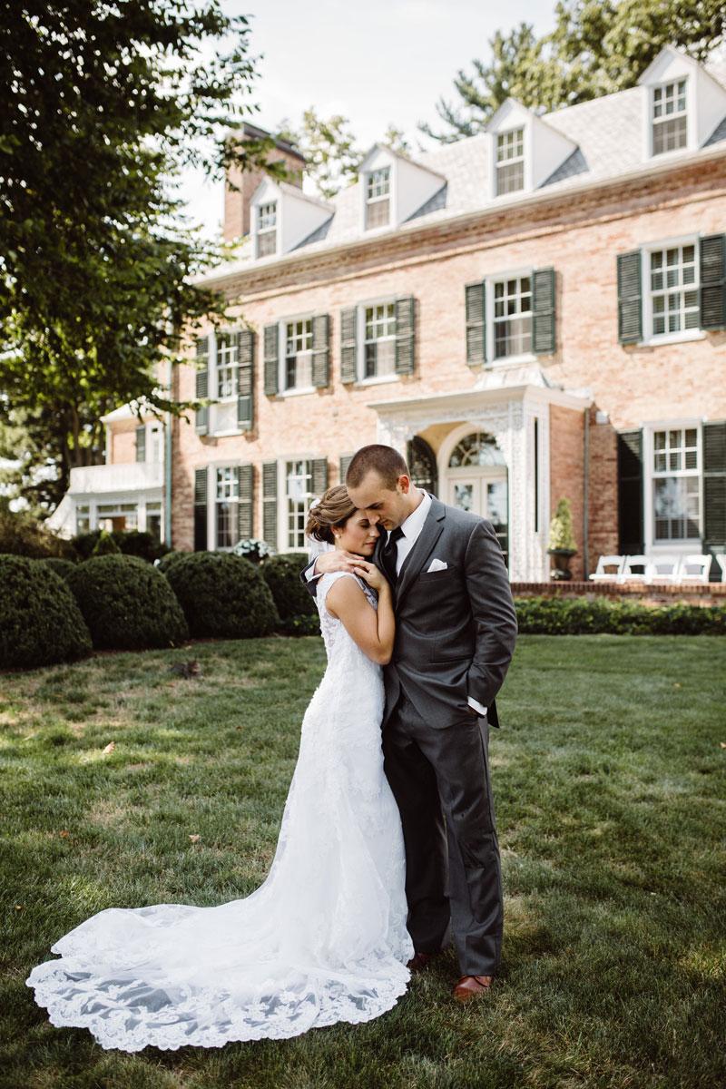 Bride & Groom - Drumore Estate Wedding