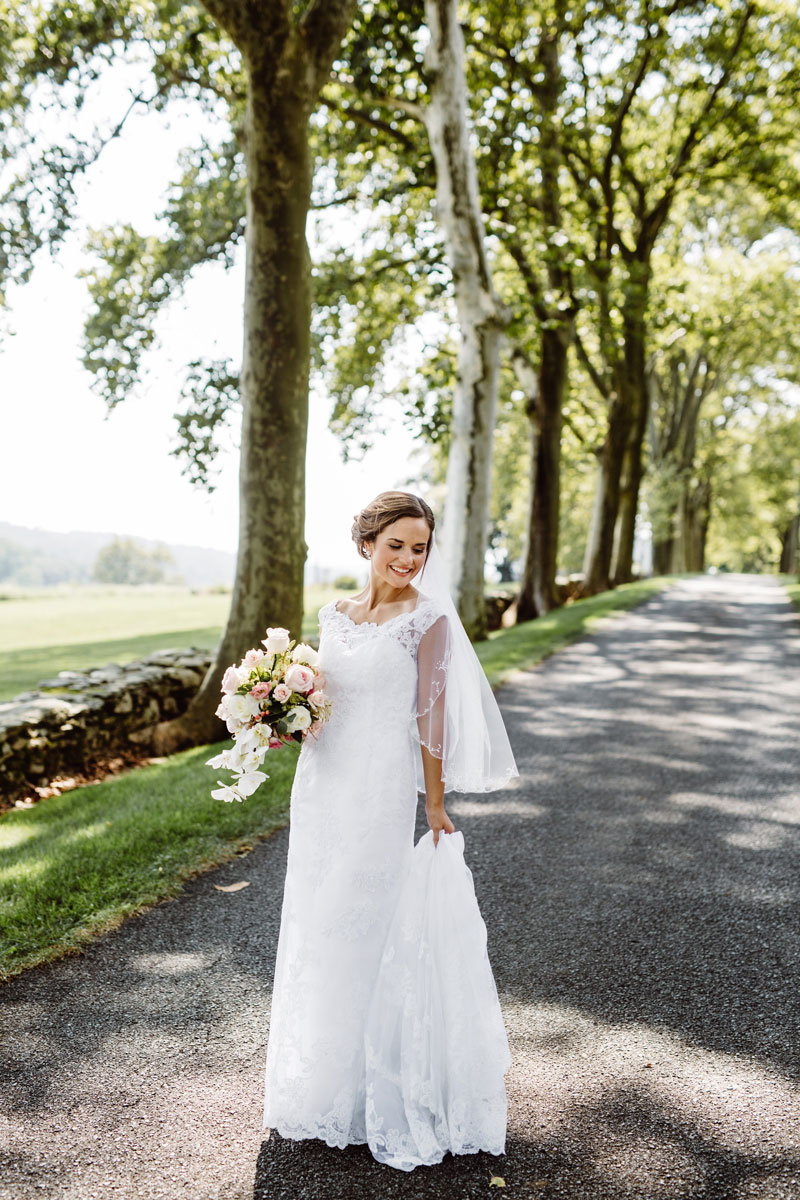 Bridal Portraits - Wedding Day Photos - Drumore Estate