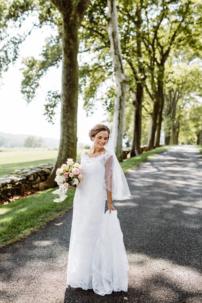 Bridal Portraits - Wedding Day Photos - Drumore Estate