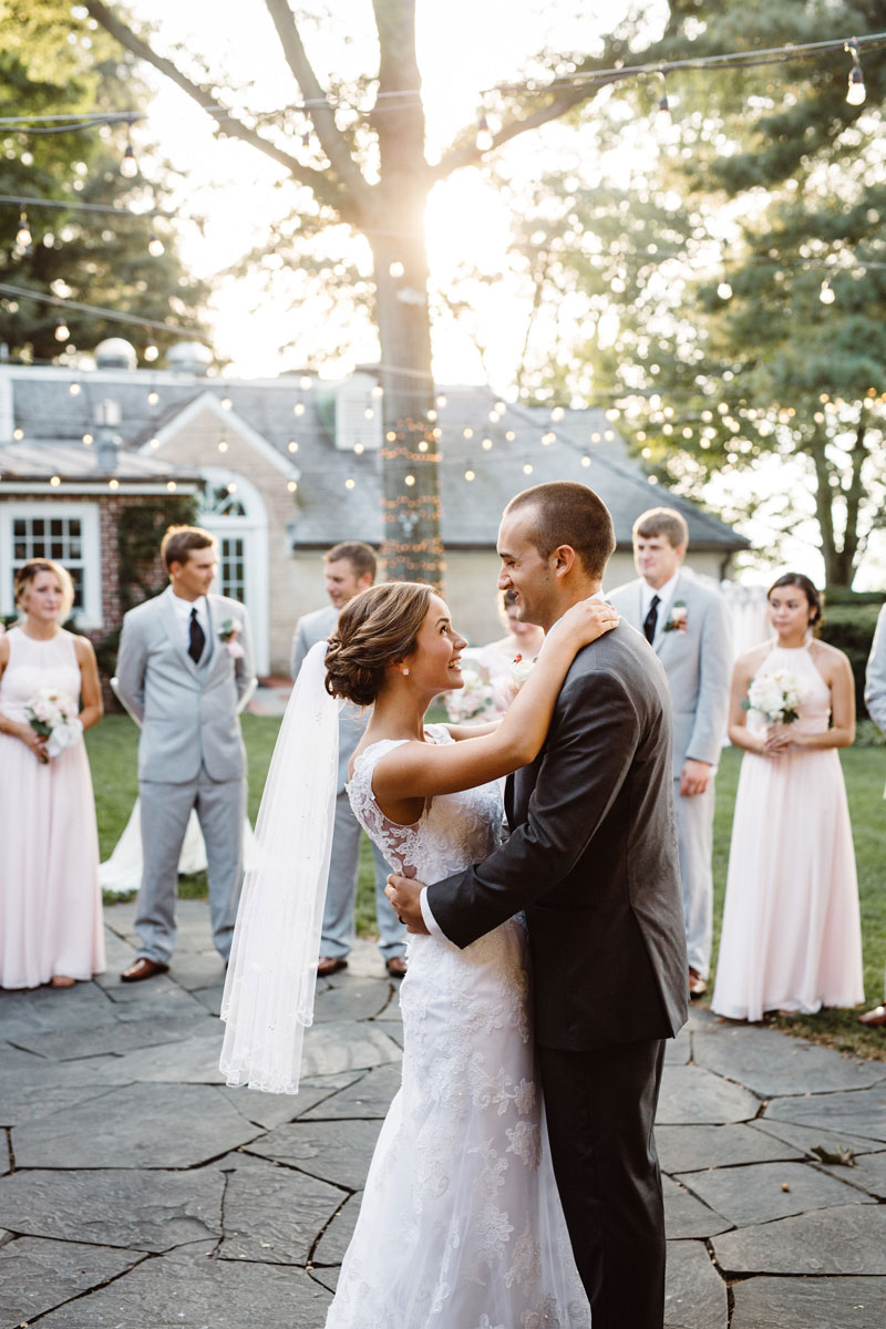First Dance - Outdoor Reception - Drumore Estate Lancaster PA