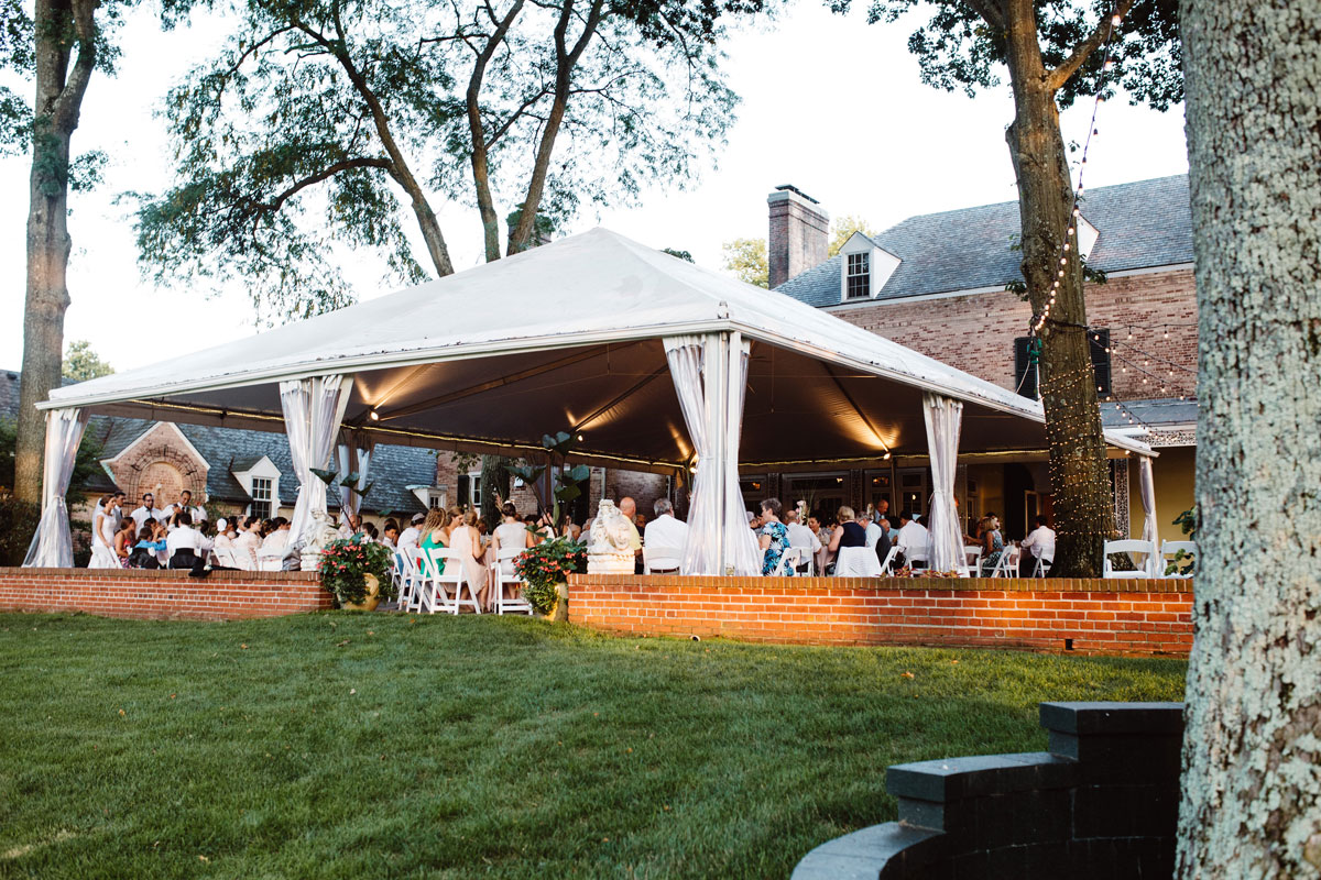 Tented Reception - Drumore Estate Lancaster PA