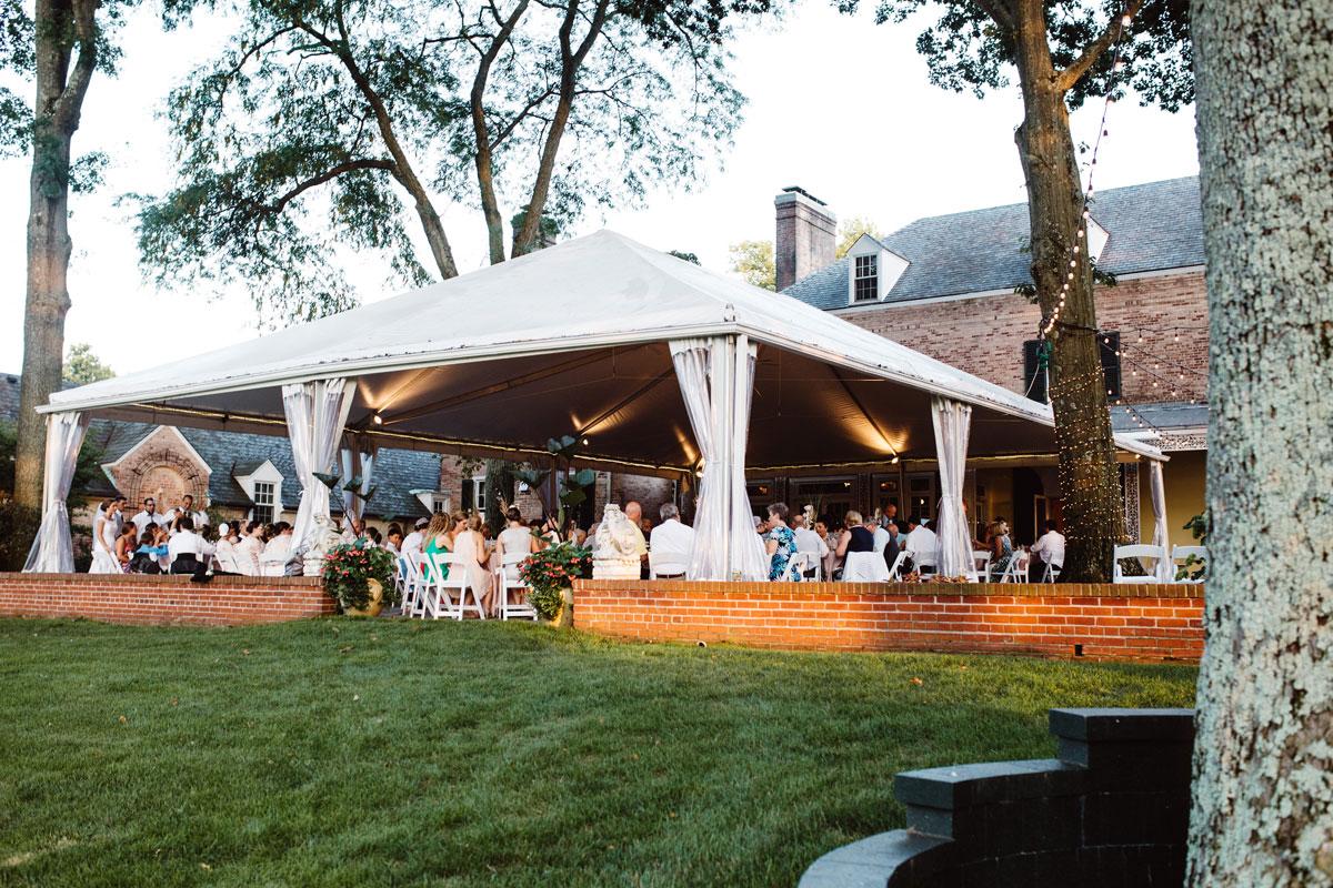 Tented Reception - Drumore Estate Lancaster PA