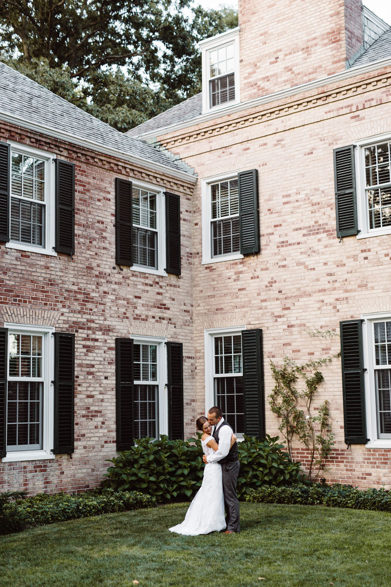 Bride & Groom - Outdoor Wedding - Drumore Estate Lancaster PA
