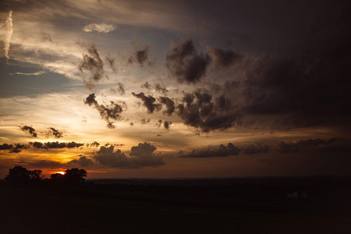 Sunset - Drumore Estate Lancaster PA