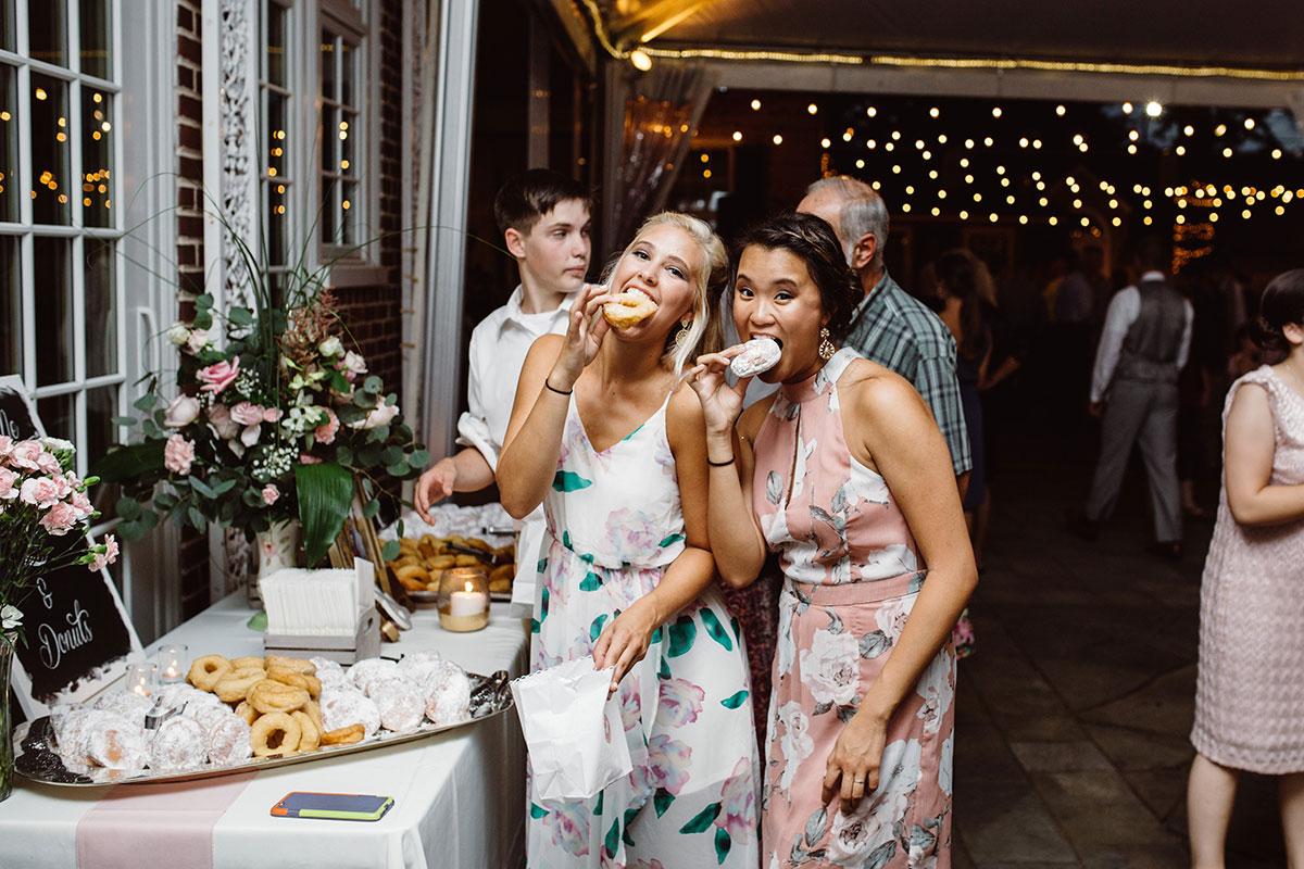 Donuts - Late Night Snacks - Wedding Reception Drumore Estate Lancaster PA