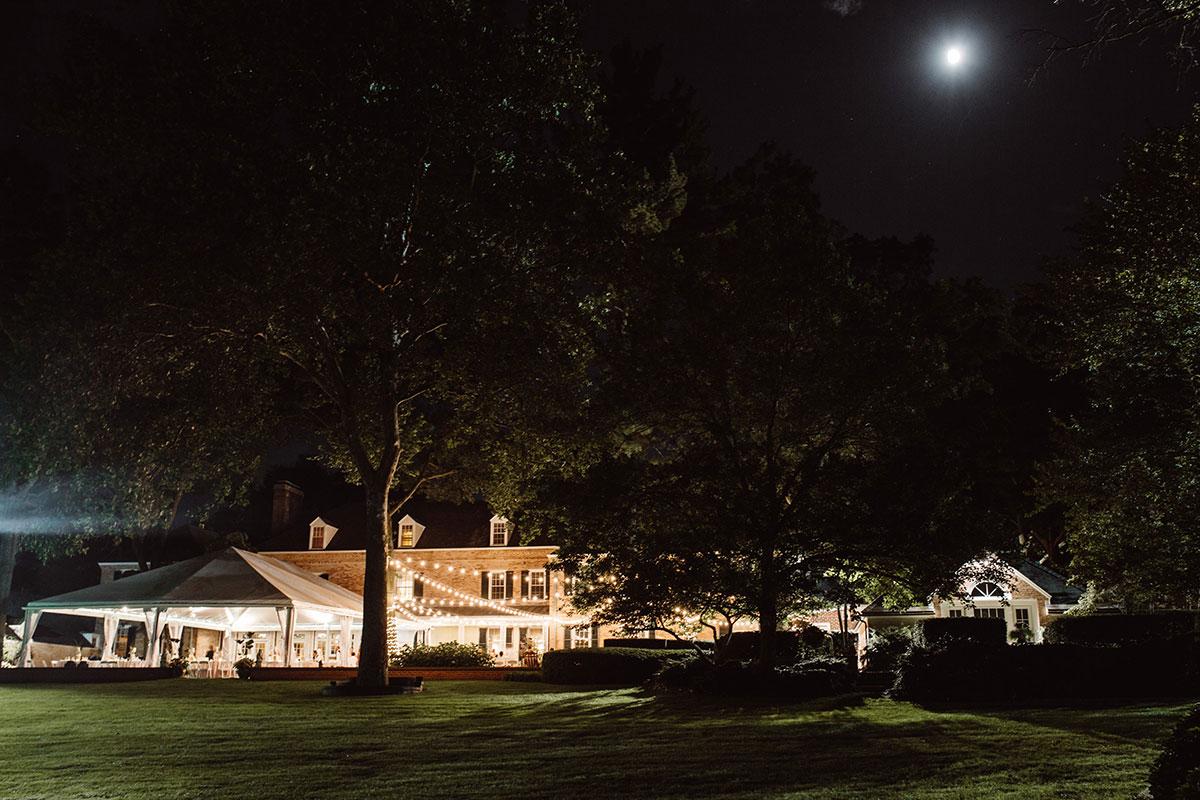 Romantic Tented Reception - Drumore Estate Lancaster PA