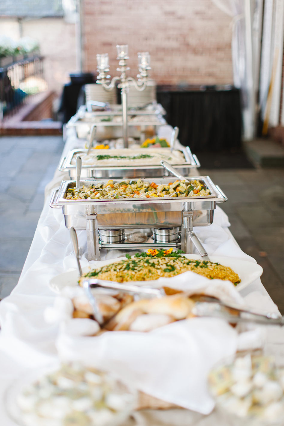 Wedding Food Buffet - Drumore Estate