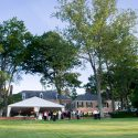 Drumore estate grounds with grand tent wedding venue