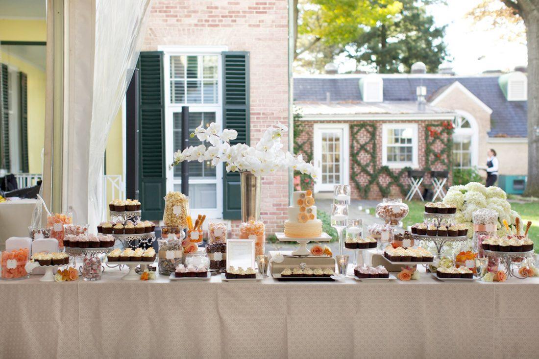 candy buffet drumore estate wedding
