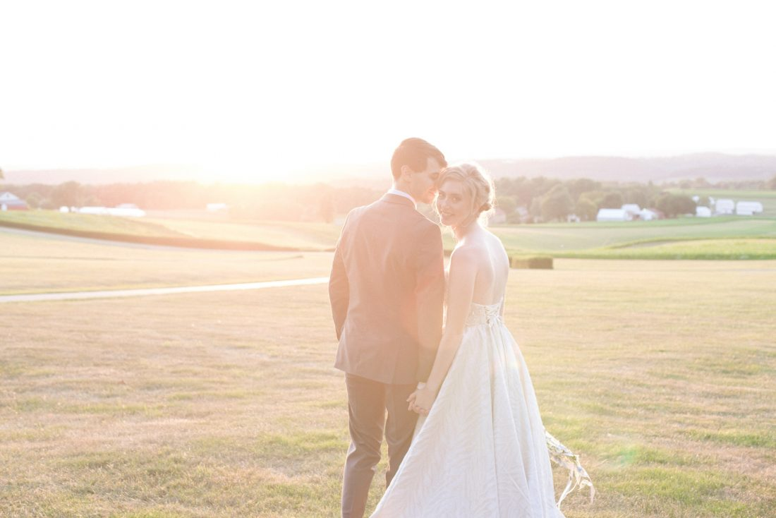 groom-bride-sunset-drumore-estate-1100×734