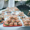 Table Filled With Wedding Snacks
