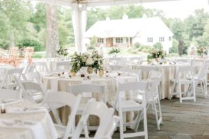 Wedding Reception Decorated with Neutral Colors